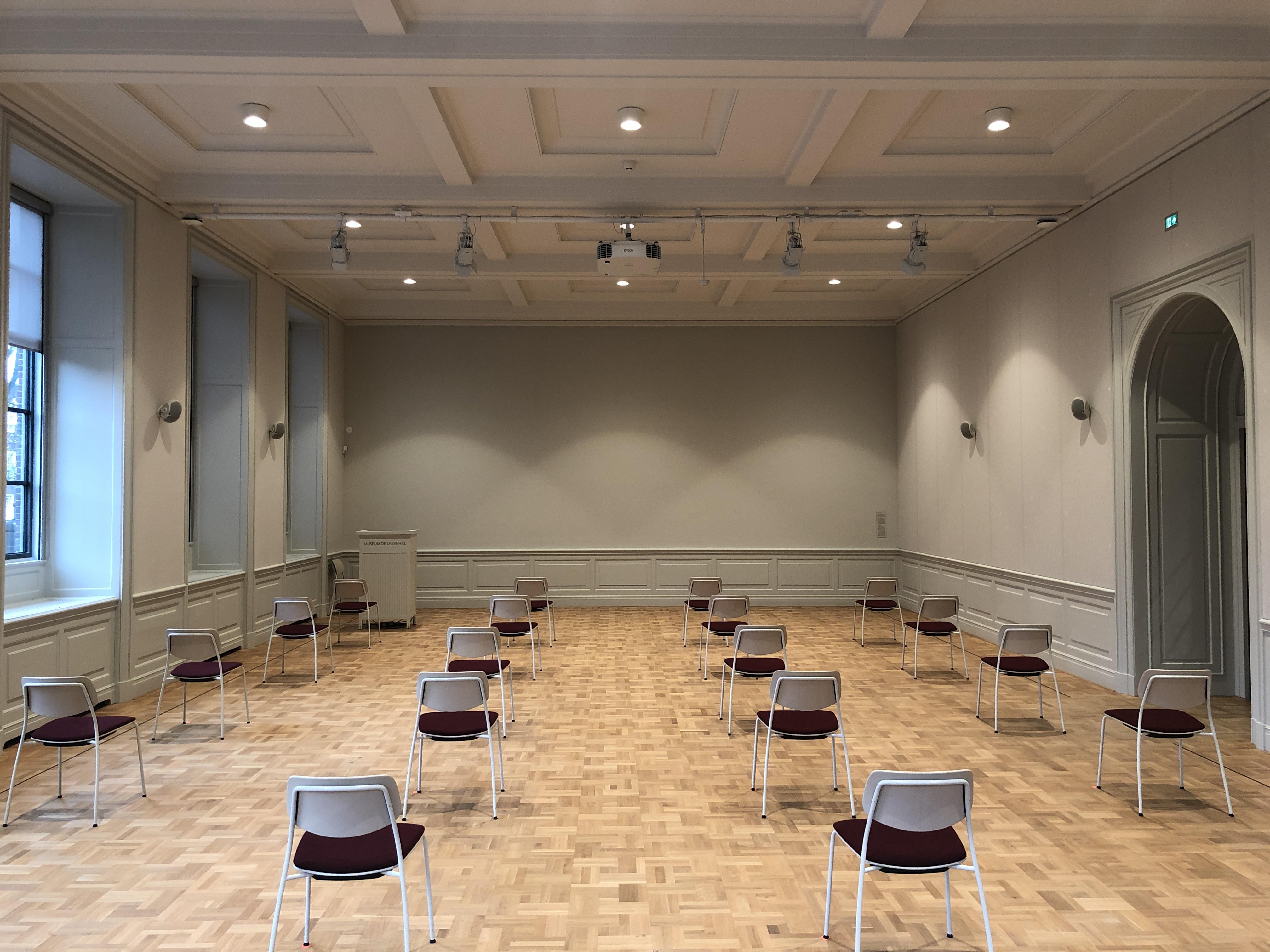 Auditorium COVID-opstelling