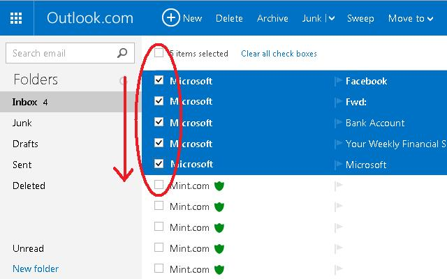 Smooth Checkbox for Hotmail™