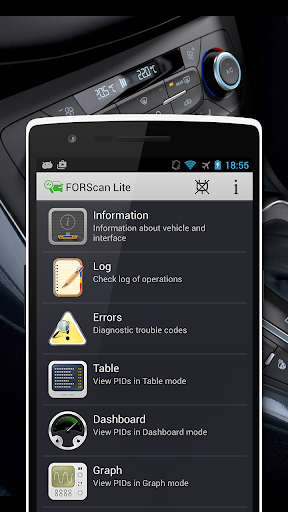 Screenshot for FORScan Lite in United States Play Store