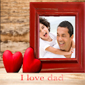 Happy Fathers Day Frame