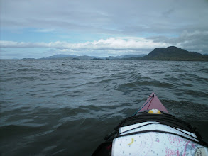 Photo: Crossing Portland Inlet with Alaska in view on the far side.