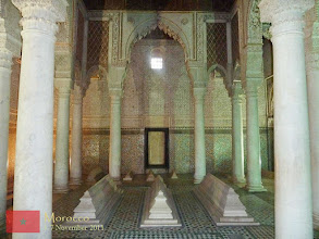 Photo: The Saadian Tombs in Marrakech is the final resting place of Saadians (an Arabian dynasty who governed much of southern Morocco in the 16th and 17th centuries). was built by Sultan Ahmed al-Mansour for himself, his family and ancestors.
