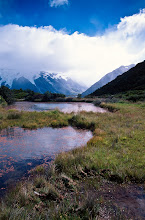 Photo: Red Tarn Lakes, Mt. Cook National Park