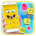 Cute Yellow Cartoon Theme icon
