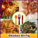 Chicken Stir Fry Recipes Book icon