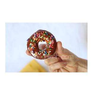 Baked Vegan Doughnuts Krispy Kreme Style by Heghineh