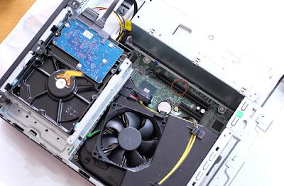 HP ProDesk 600 G5 スロット空き