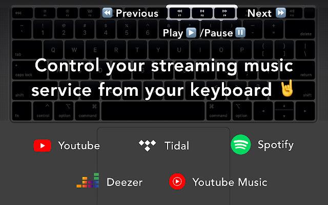 HotKey Music Controller: YouTube, Spotify