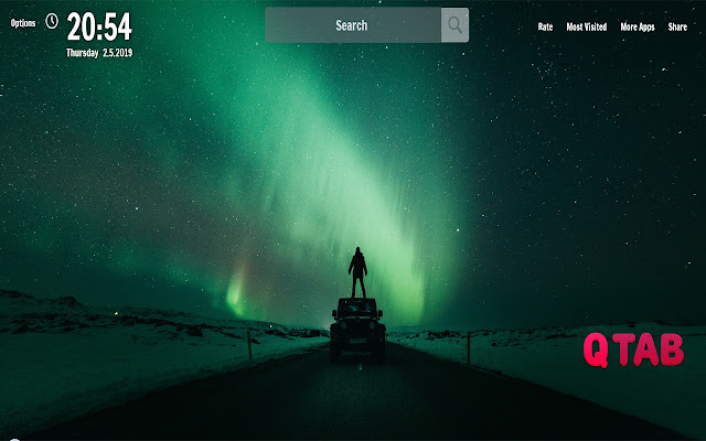 Green New Tab Colors Wallpapers