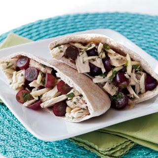 Red Grape & Tuna Salad Pita