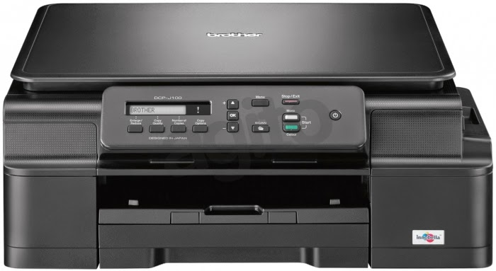 brother DCP-J100 InkBenefit ( 3 in 1 ) Inkjet Printer