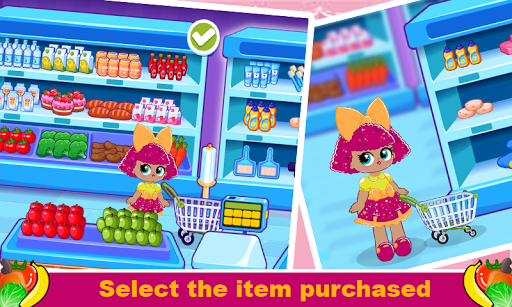 Surprise Supermarket Girl  screenshots 1