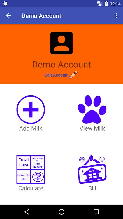 My Milkman Milk Account Detail – (Android Aplikace) — AppAgg