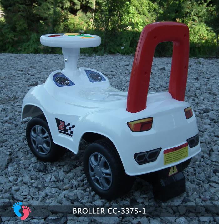 Xe ô tô chòi chân cho bé Broller CC-3375-1 có nhạc 3