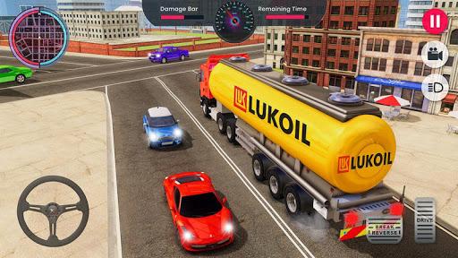 Oil Tanker Transporter Truck Games 2 apktram screenshots 3