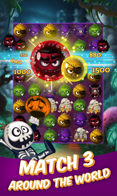 Happy Magic Witch - Halloween Game- screenshot
