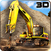 Construction Drilling Crane 3D