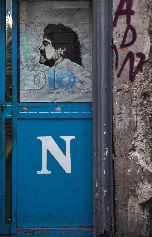 Diego Armando e Napoli di Migliu