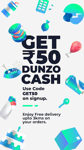Dunzo | Delivery App for Food, Grocery & more 3.0.0.1 screenshots n 1