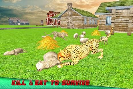 Wild Angry Cheetah Simulator screenshot