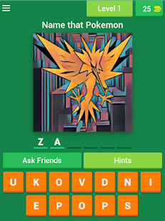 Name That Pokemon- screenshot thumbnail