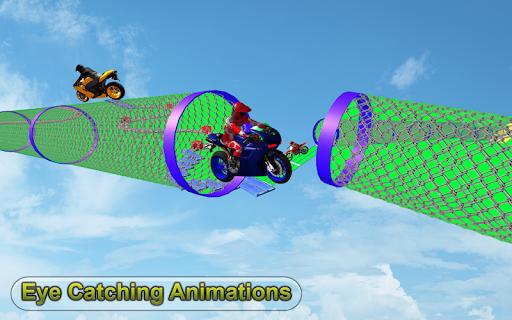 Racing Moto Bike Stunt : Impossible Track Game 1.1 screenshots 9