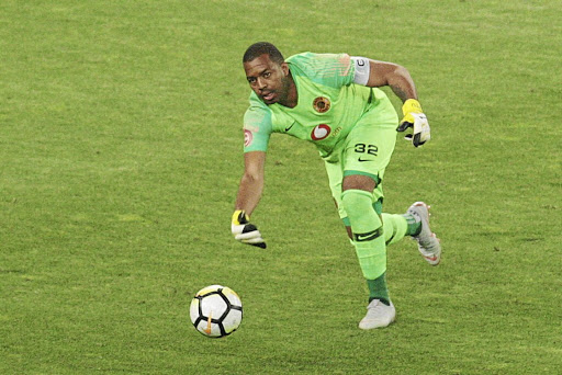 Itumeleng Khune of Kaizer Chiefs soon to return to action for the first time this year.