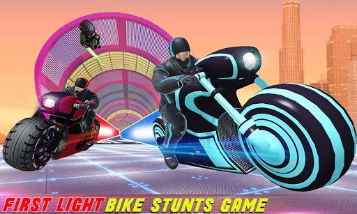 Light Bike Stunt Racing: Motor Bike Racing Games 10 screenshots 2