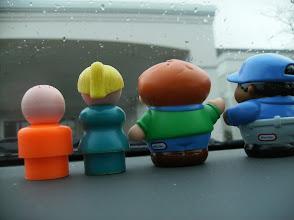 Photo: wishing it weren't raining.