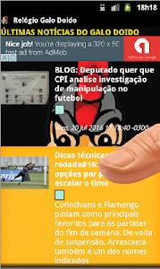 Relógio Galo Doido screenshot 6