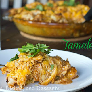 Turkey Tamale Pie #SundaySupper