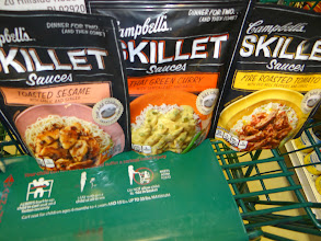 Photo: So many wonderful choices for the Campbell's Skillet Sauces!