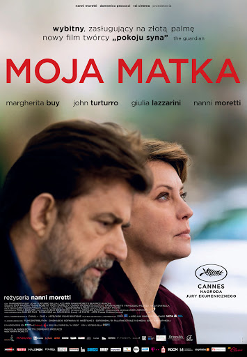 Polski plakat filmu 'Moja Matka'