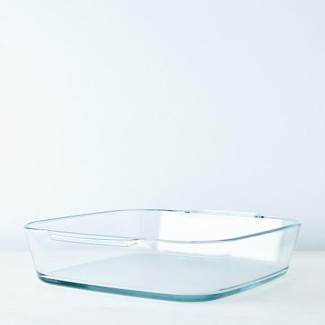 Square Borosilicate Glass Roaster