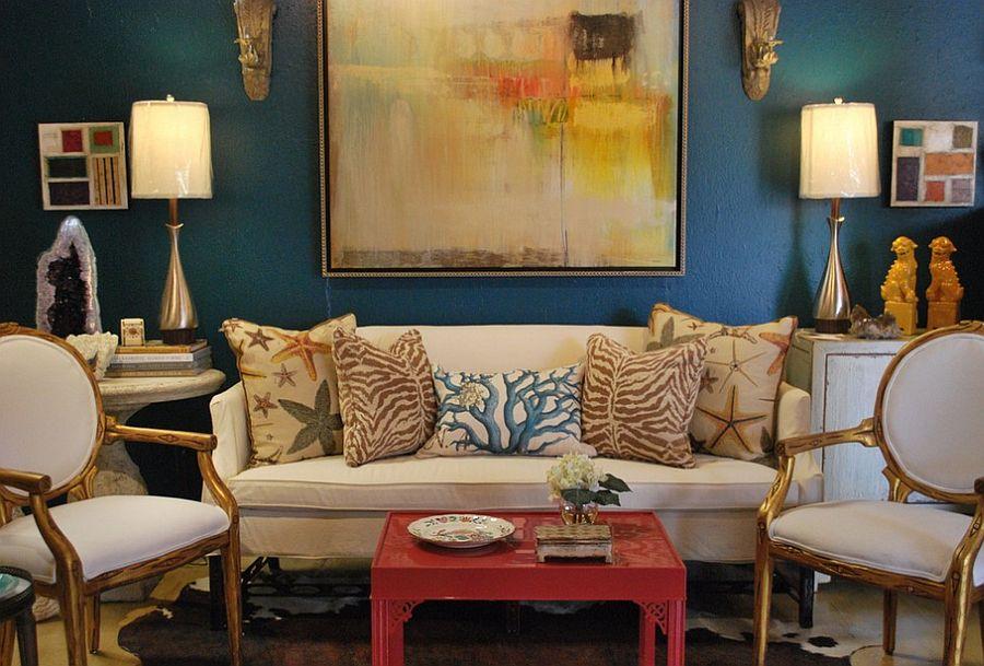 Desain eclectic menyatukan berbagai inspirasi desain - source: decoist.com