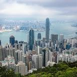 view of Hong Kong from Lugard Road in Hong Kong, , Hong Kong SAR