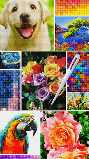 Color by Letter : Cross Stitch Joy 1.0.2 screenshots 6