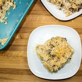 Cauliflower Rice Mushroom Casserole.