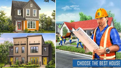 New Family House Builder Happy Family Simulator screenshots 8