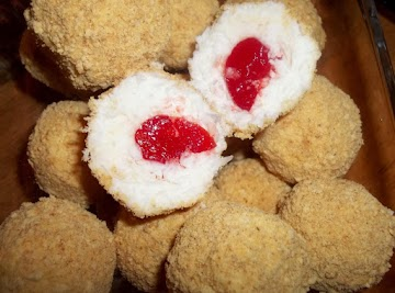 Coconut Cherry Balls Recipe