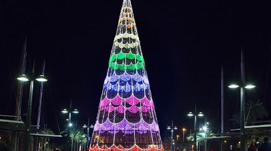 Almería comienza a pensar en la Navidad: así será la iluminación en el centro