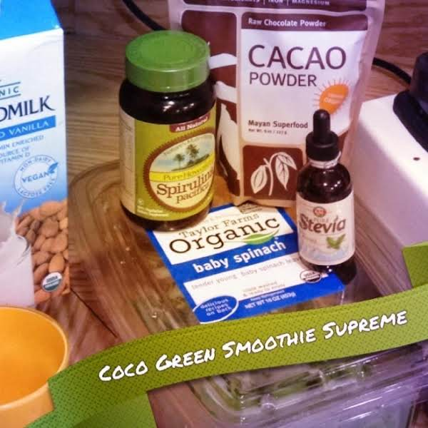Coco Green Smoothie Supreme Recipe