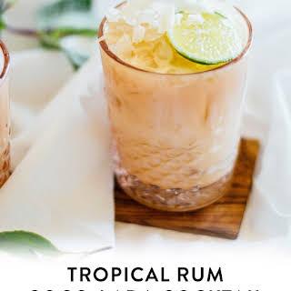 Tropical Rum Coco-Lada.