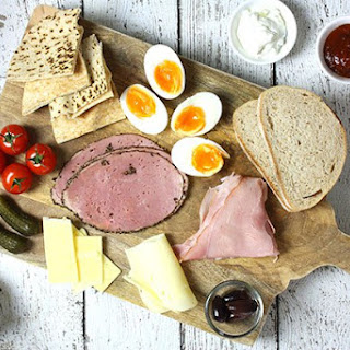 Healthy Ploughman's Lunch