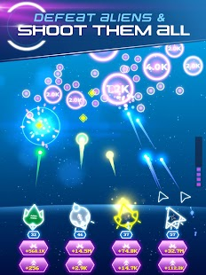 Non-Stop Space Defense - Infinite Aliens Shooter Screenshot