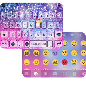 Galaxy Sparkle iKeyboardTheme