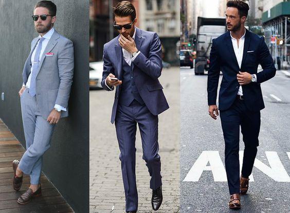 men in cocktail attire