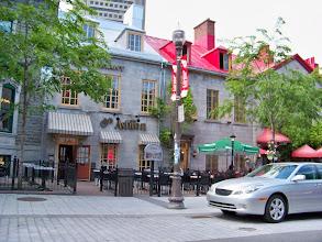 Photo: Street scene in Ste. Foy, Quebec