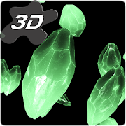 Crystals Particles 3D Live Wallpaper