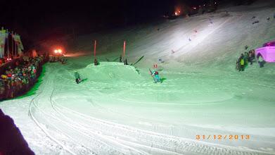 Photo: Skishow von Olang